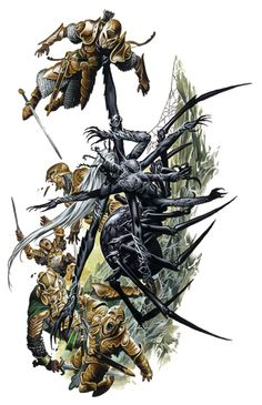 Lolth, queen of the evil Drow