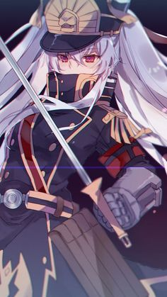720x1280 wallpaper Altair, Re:creators, anime girl, uniform
