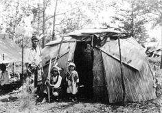 Ojibwa family – 1923