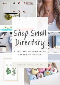 Shop Small Business Directory Of Online Small Shops & Handmade Artisans >> Eight Pepperberries