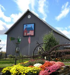Barn Quilts and the American Quilt Trail: Blogging from 41,000 feet
