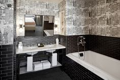 Complete Tile Furnishes the Soho Grand Hotel – Grand Suites With Studio Sofield, Soho Grand Tile