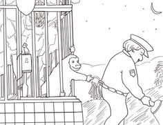 Click To See Printable Version Of Good Night Gorilla Coloring Page