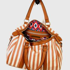 Love this World's Fair duffel bag