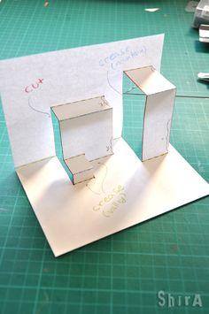 Asymmetric Box Fold