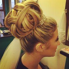 Big glam hair - Essex Wedding Hair Blog - Wedding Hair Boutique - Essex Wedding…