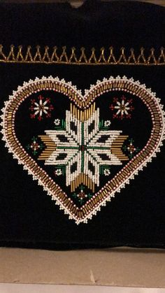 Made by Inger Johanne Wilde Norwegian Clothing, Hardanger Embroidery, Norway, Belts, Beading, Cross Stitch, Costumes, Band, Mosaic Artwork