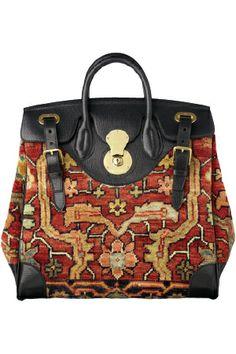 Ralph Lauren / 2013 / High Fashion / Ethnic & Oriental / Carpet & Kilim & Tiles & Prints & Embroidery Inspiration /