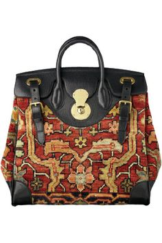 Ralph Lauren / 2013 / High Fashion / Ethnic & Oriental / Carpet & Kilim & Tiles & Prints & Embroidery Inspiration /