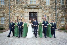 Bridal Party Ideas | Graylyn Estate, Elegant Fall Wedding | Logan Jarrard Photography | Leigh Pearce Weddings, Winston Salem North Carolina Wedding Planner