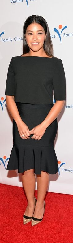 Gina Rodriguez Red Carpet Style