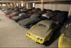Crazy Story – 36 Neglected And Abandoned Corvettes Saved From NYC Parking Garages – The Legendary Peter Max Collection Is Being Restored