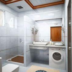 Integrar lavadora en baño pequeño