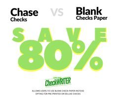 Chase checks - Switch to Blank Check Printing Software Save I Think it`s very good, it`s excellent service, I recomend it Order Checks Online, Checkbook Register, Blank Check, Writing Software, Custom Website Design, Business Checks, Online Support, Letter Size Paper, Check Printing