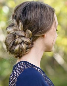 Here you can see beautiful ideas of homecoming braided updo haircuts for females to use in 2018.