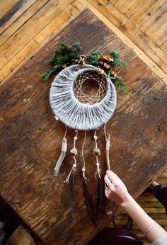 DIY Fall Dreamcatcher «  Maptote