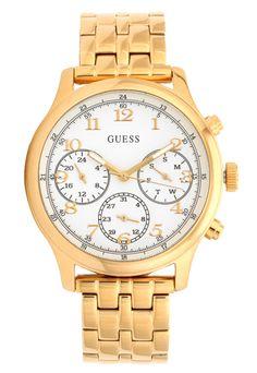 2e8ce58c952 Relógio Guess 92671LPGSDA2 Dourado Branco