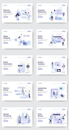 10 SOCIAL MEDIA ILLUSTRATION Set of modern flat design concept. Landing page template. Conceptual vector illustration for web and graphic design. Design Android, Design Ios, Game Ui Design, Web Design Trends, Flat Design, Graphic Design, Layout Design, Web Layout, Page Design