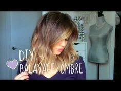 ▶ DIY: Balayage or Ombre at Home! - YouTube
