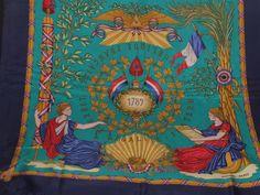 1789 Liberte Egalite Fraternite Hermes Scarf by Winwinfashion