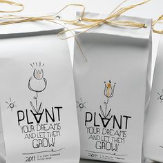 Plant Your Dreams, SelfPromo - The Dieline - The #1 Package Design Website -