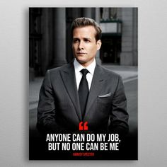 Suits Harvey Specter Quote Metal Poster on Displate. Harvey Specter Suits, Suits Harvey, Serie Suits, Suits Tv Shows, Mens Fashion Suits, Mens Suits, Suits Rachel, Suit Drawing, Suits Quotes