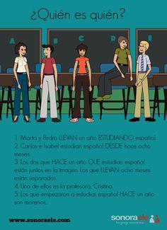 B1 - Hablar de la duración de una acción. Nueva entrada en el blog de Sonora ELE.