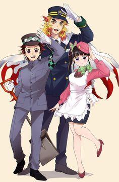 Anime Chibi, Haikyuu Anime, Manga Anime, Anime Art, Demon Slayer, Slayer Anime, Twin Star Exorcist, Samurai Armor, Fanart