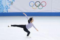 浅田真央選手、ソチで練習開始