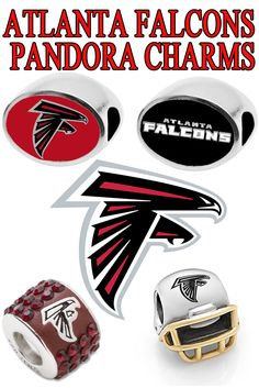 7008df4ac Atlanta Falcons Jewelry Pandora charms and beads for the Dirty Birds fans  in and around the