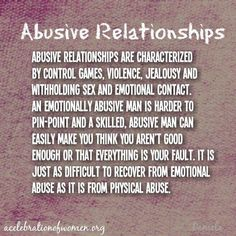 Control Games | Characteristics of Abusive Relationships | Break the Cycle | Narcissistic Abuse Recovery and Awareness
