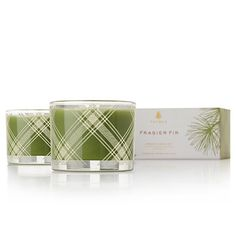 The perennial favorite in this season's design..GET IT WHILE IT LASTS!! Frasier Fir Candle Set
