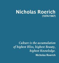 Nicholas Roerich -- artist, philosopher, author, so much more!