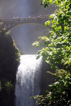 Multnomah Falls - Troutdale, Oregon. Been there...pictures do not do it justice.
