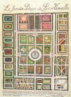 The King's Vegetable Garden at Versailles — Artfinder..Sophie Grandval