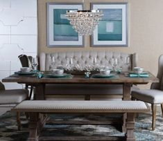 Azure Blue 1. Banquette DiningDining ...