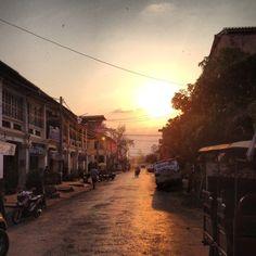 #Kampot #Cambodia #sunset