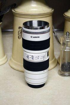 NIKKOR TO MM TUMBLER NIKON COFFEE LENS MUG Gadgets And - Nikon coffee cup lens