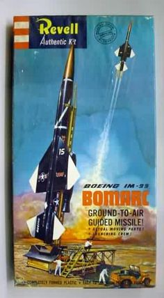 Revell - Boeing IM-99 Bomarcground to air guided missile model kit