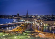 Stockholm night by Anders E. Skånberg on 500px