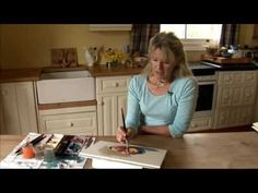 10 Minute Watercolours with Hazel Soan - Programme Two - Part Two - YouTube
