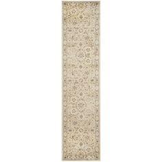 Safavieh Florenteen Ivory/ Grey Rug (2' x 6') - Overstock™ Shopping - Great Deals on Safavieh Runner Rugs