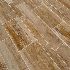 """Izmir Travertine Tile - Planks and Sets Matisse Venus Beige Vein Cut / 8""""x24""""x1/2"""" / Honed and Filled SKU: 10088360 5.0 (1 review) Compare..."""
