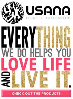 Usana Health Sciences: Everything We Do Helps You Love Life And Live It.