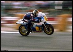 Gassin up the Suzuki in Grand Prix, Racing Motorcycles, Old Bikes, Motogp, Good Old, My Hero, Yamaha, Lord, Vehicles