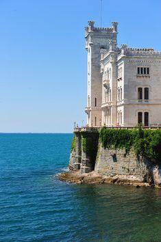 Miramare Castle, Trieste   Italy (by Tiberio Frascari)