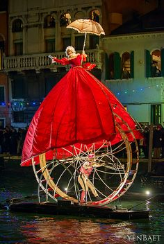 Venice Carnevale 2013 - Llotopie's Metamorphosis Aquaticae.