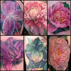 Here's a collection of peony, dahlia, philgarcia_inkphillertattoos- #webstagram