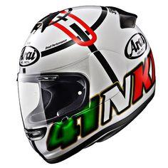 Arai Helmets - JPmotorcyclehelmet: Motorcycle Helmet, Parts & Accessories Arai Helmets, Motorcycle Helmets, Racing, Hats, Accessories, Decal, Street, Design, Full Face Helmets