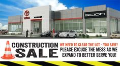 Breaking news...we are growing! Toyota of Puyallup has just kicked off a full dealership remodel and expansion to better serve you! We are so excited for an updated state-of-the-art facility and can't wait to share updates. In the meantime, today we kicked off our Construction Sale - we need to clear the lot which means you will save! There is NO better time to buy than now at Toyota of Puyallup.